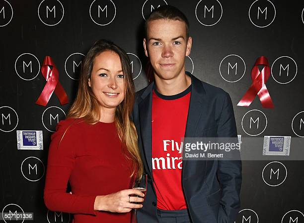 Will Poulter and sister Jo Poulter attend the launch of M Victoria Street in aid of Terrence Higgins Trust on January 27 2016 in London England