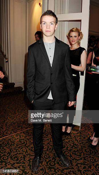 Will Poulter arrives at the Jameson Empire Awards at Grosvenor House on March 25 2012 in London England