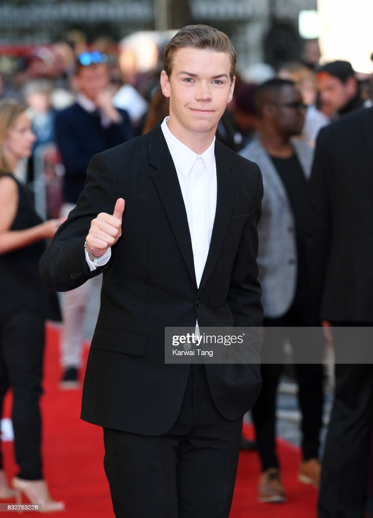Will Poulter arrives for the European Premiere of 'Detroit' at The Curzon Mayfair on August 16, 2017 in London, England.