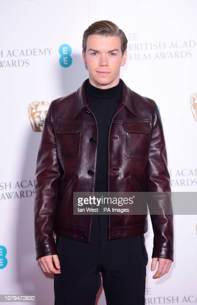 Will Poulter attending the EE British Academy Film Awards nominations announcement at BAFTA London