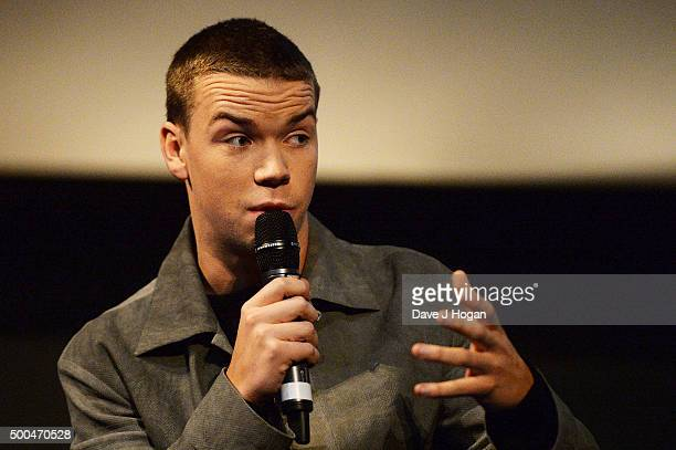 Will Poulter attends a BAFTA Q&A of 'The Revenant' at Vue Leicester Square on December 6, 2015 in London, England.