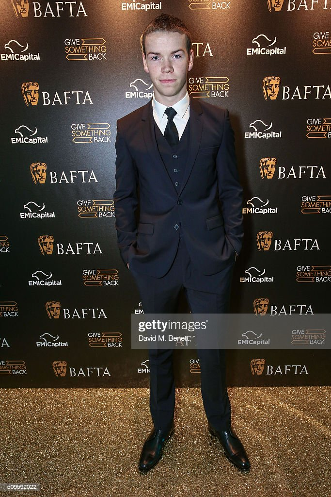 Will Poulter attends the BAFTA Film Gala in aid of the 'Give Something Back' campaign at BAFTA Piccadilly on February 11, 2016 in London, England.