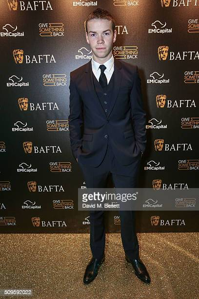 Will Poulter attends the BAFTA Film Gala in aid of the 'Give Something Back' campaign at BAFTA Piccadilly on February 11 2016 in London England