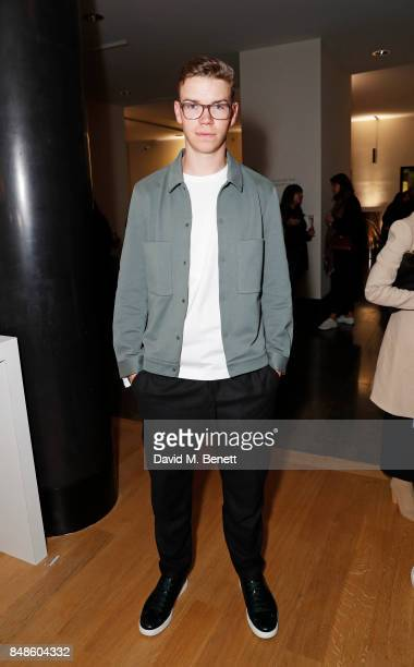 Will Poulter attends the COS 10 year anniversary party at The National Gallery on September 17 2017 in London England
