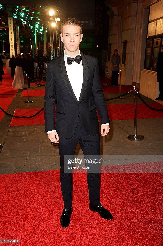 Will Poulter attends the EE British Academy Film Awards at The Royal Opera House on February 14, 2016 in London, England.