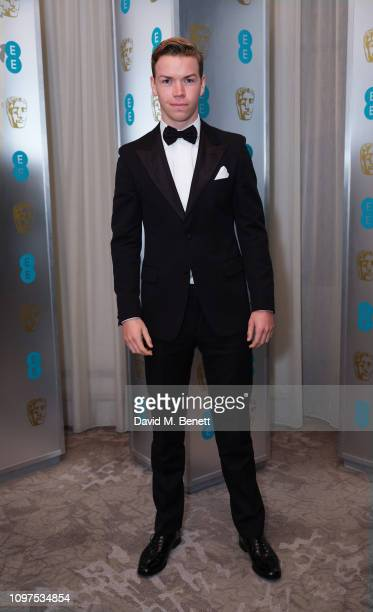 Will Poulter attends the EE British Academy Film Awards gala dinner at The Grosvenor House Hotel on February 10 2019 in London England