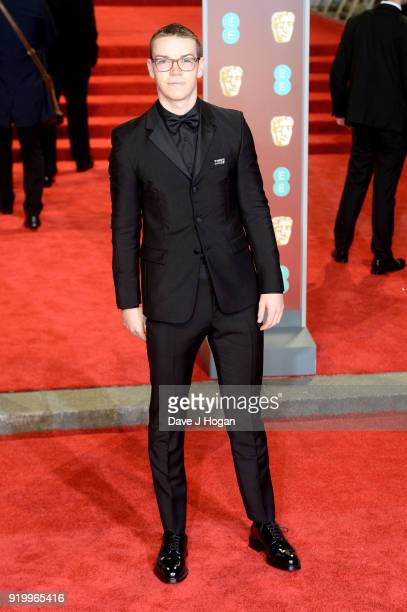 Will Poulter attends the EE British Academy Film Awards held at Royal Albert Hall on February 18 2018 in London England
