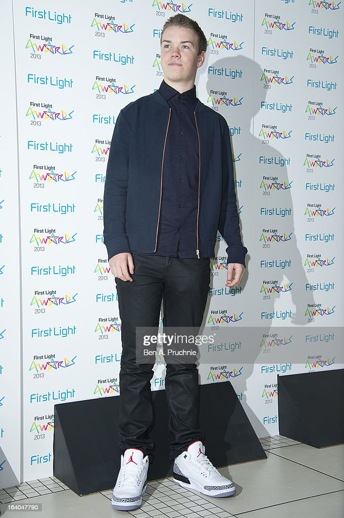 Will Poulter attends the First Light Awards at Odeon Leicester Square on March 19, 2013 in London, England.