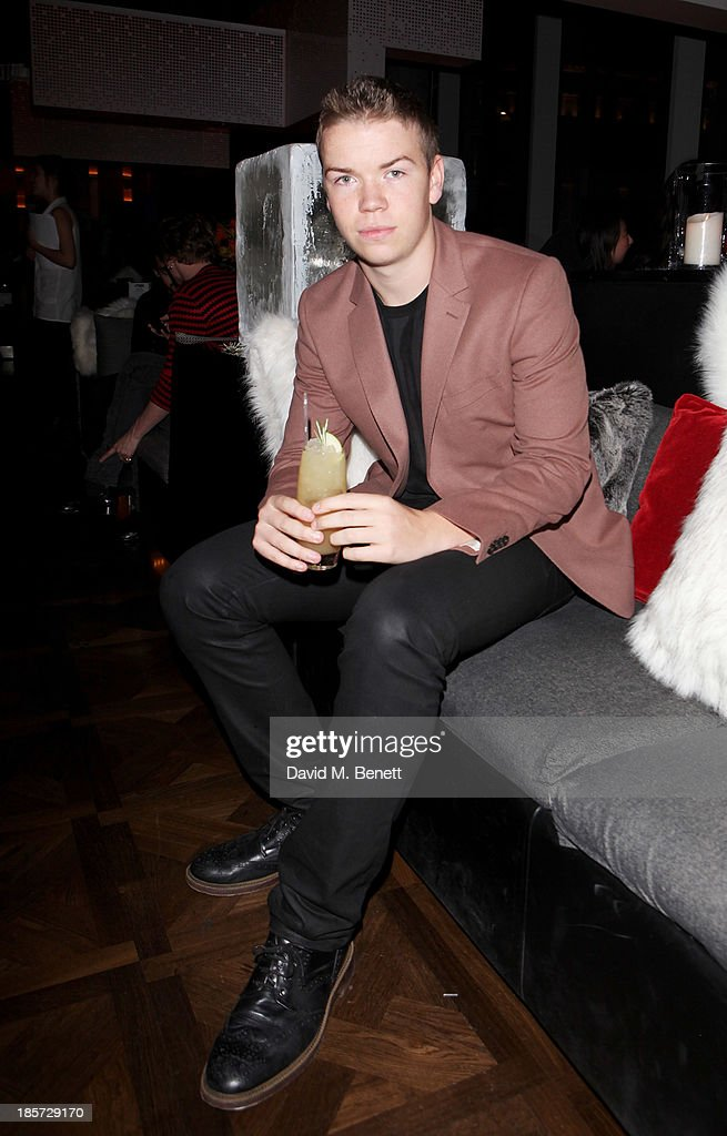 Will Poulter attends the launch of the W Republic of Verbier takeover at W London - Leicester Square on October 24, 2013 in London, England.