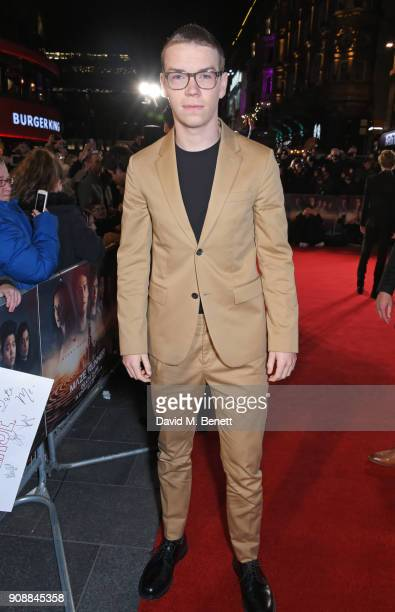 Will Poulter attends the UK fan screening of 'Maze Runner The Death Cure' at Vue West End on January 22 2018 in London England