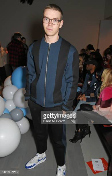 Will Poulter attends the What We Wear show during London Fashion Week Men's January 2018 at BFC Show Space on January 6 2018 in London England