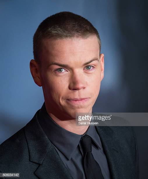 Will Poulter attends UK Premiere of The Revenant at Empire Leicester Square on January 14 2016 in London England