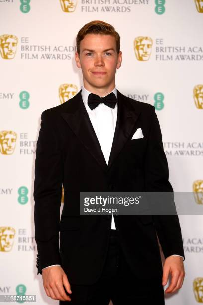 Will Poulter in the press room during the EE British Academy Film Awards at Royal Albert Hall on February 10 2019 in London England