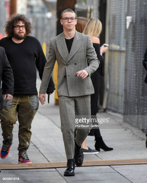 Will Poulter is seen on January 16 2018 in Los Angeles California