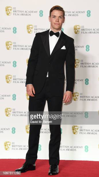 Will Poulter poses in the press room at the EE British Academy Film Awards at Royal Albert Hall on February 10 2019 in London England