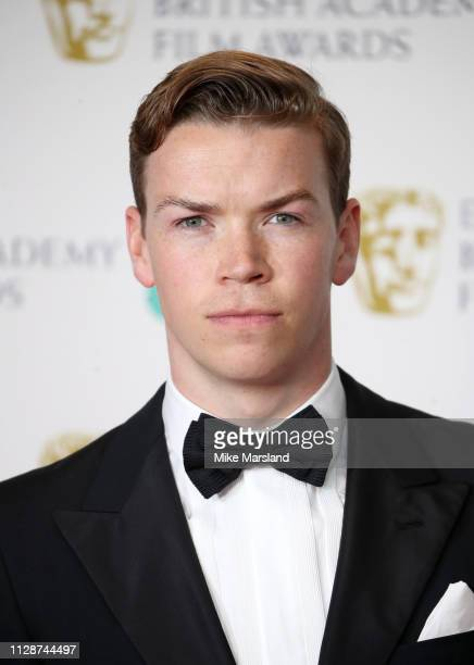 Will Poulter poses in the press room during the EE British Academy Film Awards at Royal Albert Hall on February 10 2019 in London England
