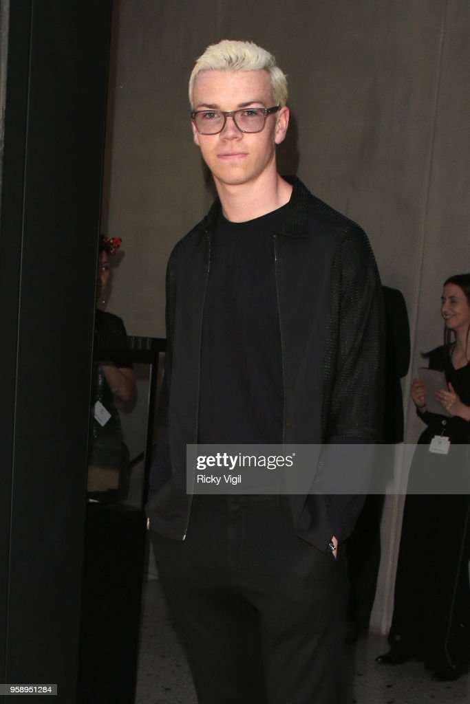 Will Poulter seen attending Nobu Hotel Shoreditch - launch party on May 15, 2018 in London, England.
