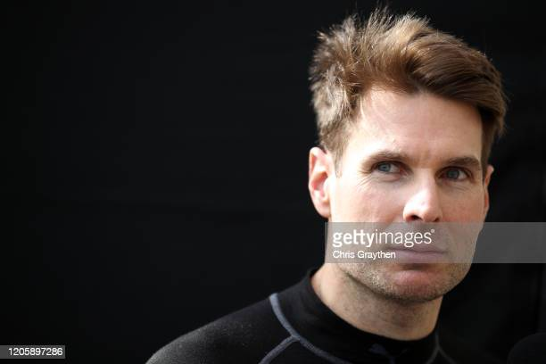 Will Power driver of the Verizon Team Penske Chevrolet looks on during NTT IndyCar Series testing at Circuit of The Americas on February 12 2020 in...
