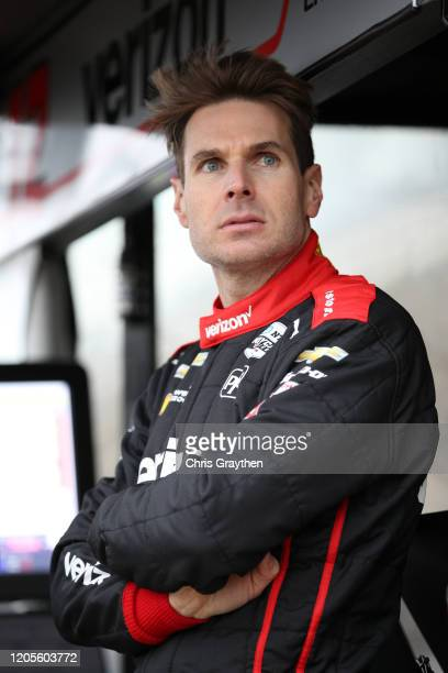 Will Power driver of the Verizon Team Penske Chevrolet prepares to drive during NTT IndyCar Series testing at Circuit of The Americas on February 11...