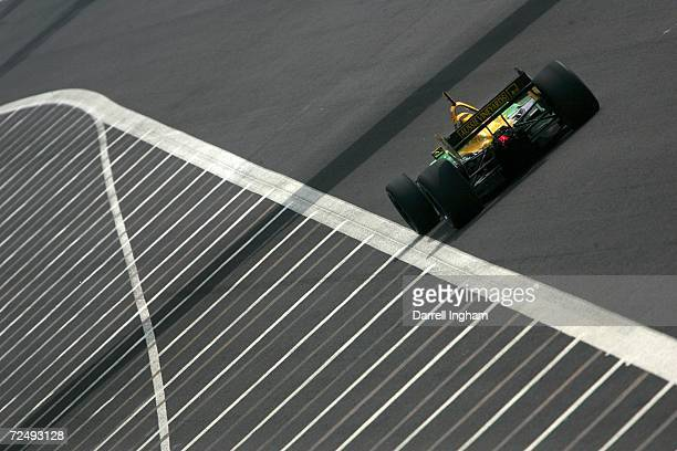 Will Power drives the Team Australia Lola Cosworth during practice for the Champ Car World Series Gran Premio Telmex at the Autodromo Hermanos...