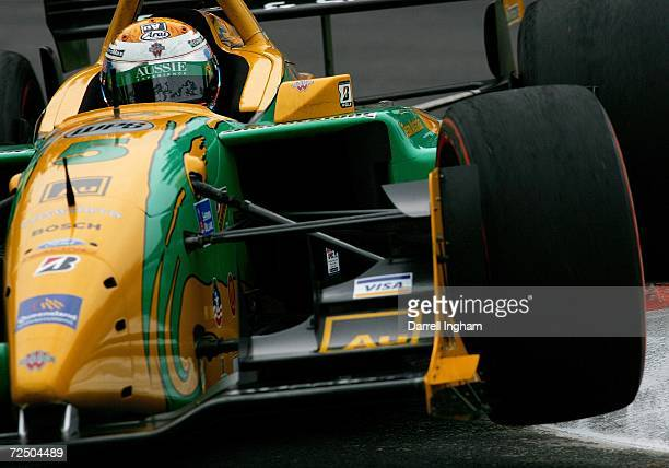 Will Power drives the Team Australia Lola Cosworth during practice for the ChampCar World Series Gran Premio Telmex on November 10 2006 at the...