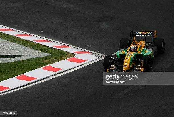 Will Power drives the Team Australia Lola Cosworth during the ChampCar World Series Gran Premio Telmex on November 12 2006 at the Autodromo Hermanos...