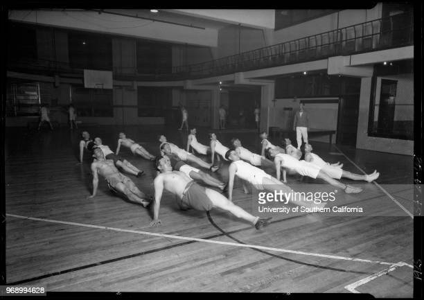 Will Rabin exercising at YMCA Southern California 1925