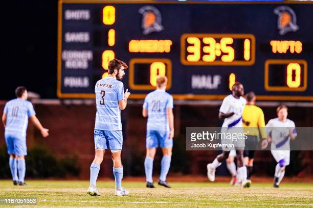 Will Raphael of Tufts Jumbos during the Division III Men's Soccer Championship held at UNCG Soccer Stadium on December 7 2019 in Greensboro North...