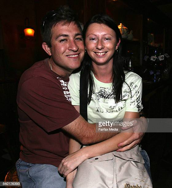 Will Reid, left, and Belinda Green at PJ Gallagher's seventh birthday, Parramatta, 30 November 2006. SHD Picture by JANIE BARRETT