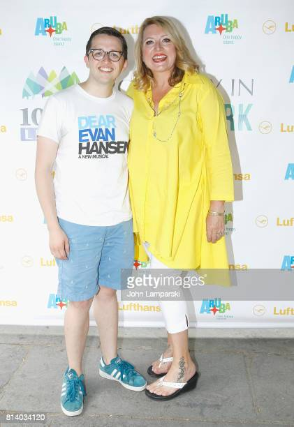 Will Roland and Delilah Rene attend during the 1067 Lite FM's Broadway in Bryant Park at Bryant Park on July 13 2017 in New York City