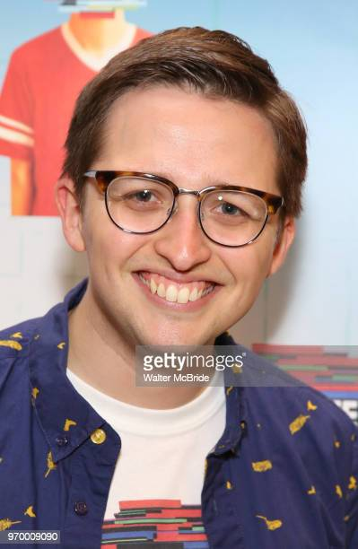 Will Roland attends the Meet Greet for 'Be More Chill' at The Pershing Square Signature Center on June 8 2018 in New York City