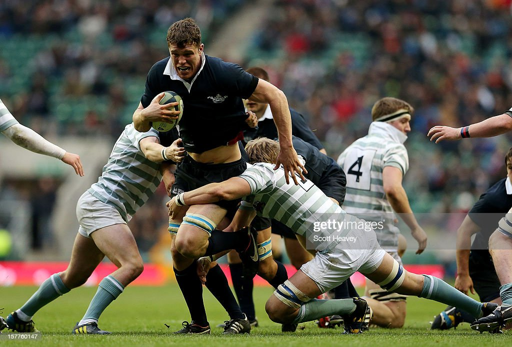 Will Rowlands of Oxford in action during the Varsity Match between Oxford University and Cambridge University at Twickenham Stadium on December 6, 2012 in London, England.