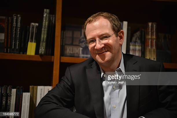 """Will Schwalbe discusses and signs copies of his new book """"The End of Your Life Book Club"""" at Books and Books on October 12, 2012 in Coral Gables,..."""