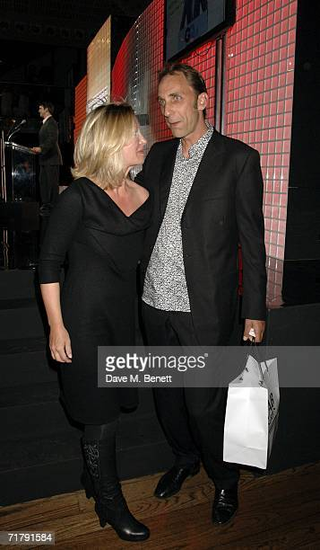 Will Self with the Writer of the Year Award presented by Kirsty Young at the GQ Men Of The Year Awards at the Royal Opera House on September 5 2006...