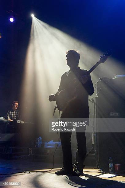 Will Sergeant of Echo And The Bunnymen performs on stage at Queens Hall on June 11 2014 in Edinburgh United Kingdom
