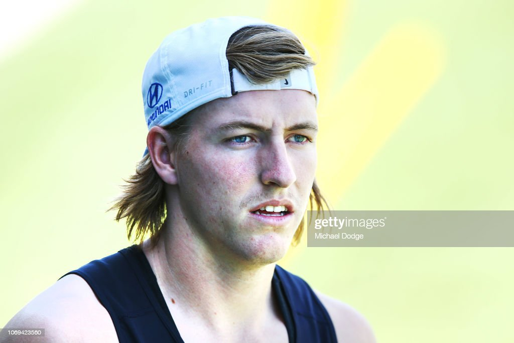 Carlton Blues Training Session : News Photo