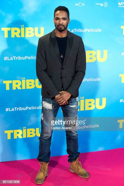 Will Shephard attends 'La Tribu' premiere at the Capitol cinema on March 12 2018 in Madrid Spain