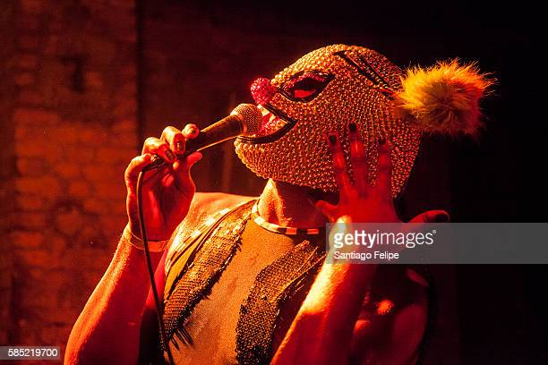 Will Sheridan performs during the Yo Sissy music festival at Postbahnhof on July 29 2016 in Berlin Germany
