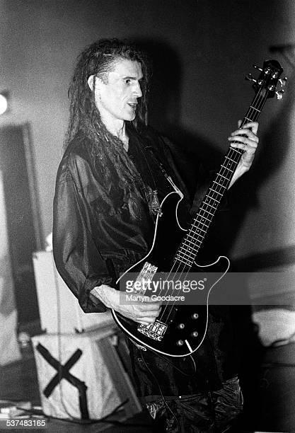 Will Sinnott of The Shamen performs on stage in Aberdeen Scotland United Kingdom 1990