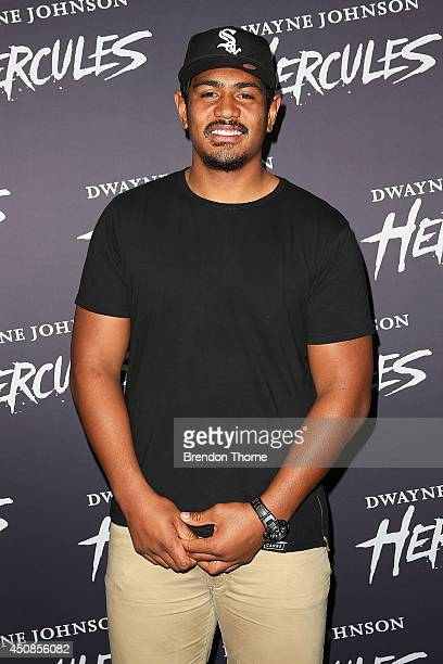 Will Skelton arrives at the screening of HERCULES at Event Cinemas George Street on June 19 2014 in Sydney Australia