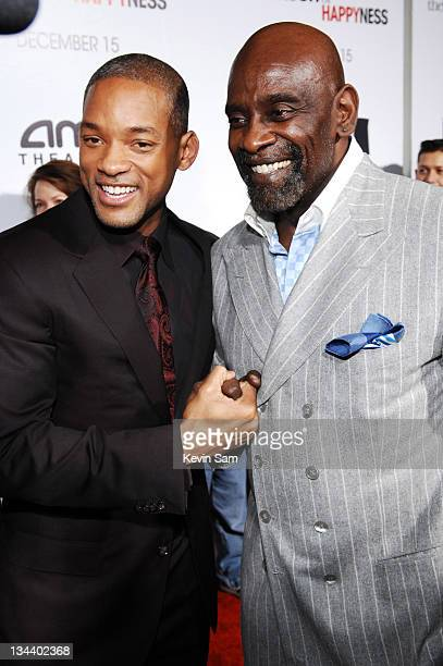 Will Smith and Chris Gardner during Columbia Pictures Special Screening of 'The Pursuit of Happyness' in San Francisco at AMC Metreon in San...