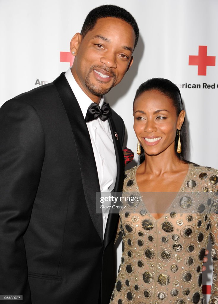 Will Smith and Jada Pinkett Smith attends The American Red Cross Red Tie Affair Fundraiser Gala at Fairmont Miramar Hotel on April 17, 2010 in Santa Monica, California.