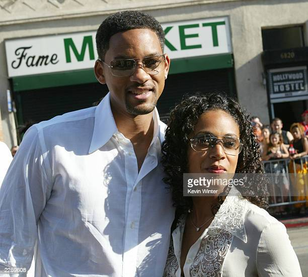 Will Smith and Jada PinkettSmith at the 2nd Annual BET Awards at the Kodak Theatre in Hollywood Ca Tuesday June 25 2002 Photo by Kevin...