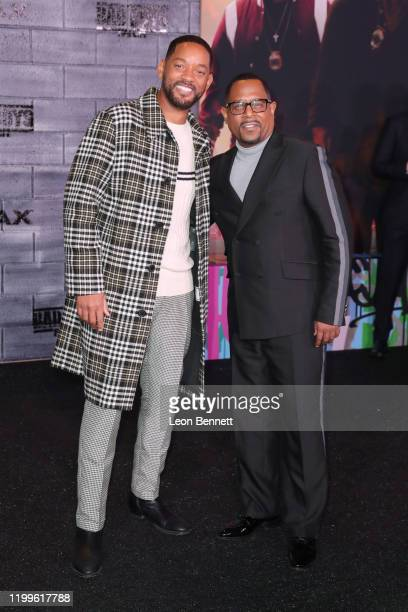 Will Smith and Martin Lawrence attend Premiere Of Columbia Pictures' Bad Boys For Life at TCL Chinese Theatre on January 14 2020 in Hollywood...