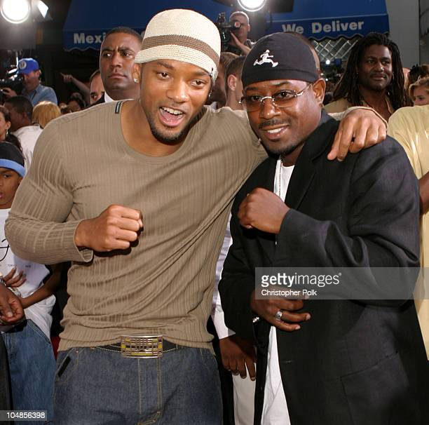 Will Smith and Martin Lawrence during Bad Boys II World Premiere at Mann Village in Westwood California United States