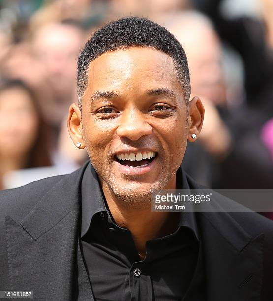 Will Smith arrives at Free Angela All Political Prisoners premiere during the 2012 Toronto International Film Festival held at Roy Thomson Hall on...