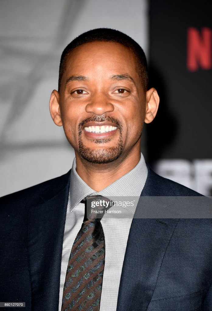 Will Smith arrives at the Premiere Of Netflix's 'Bright' at Regency Village Theatre on December 13, 2017 in Westwood, California.