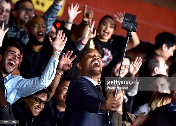 Will Smith arrives at the Premiere Of Netflix's Bright at Regency Village Theatre on December 13 2017 in Westwood California
