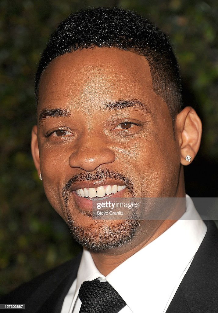 Will Smith arrives at the The Academy Of Motion Pictures Arts And Sciences' Governors Awards at The Ray Dolby Ballroom at Hollywood & Highland Center on December 1, 2012 in Hollywood, California.