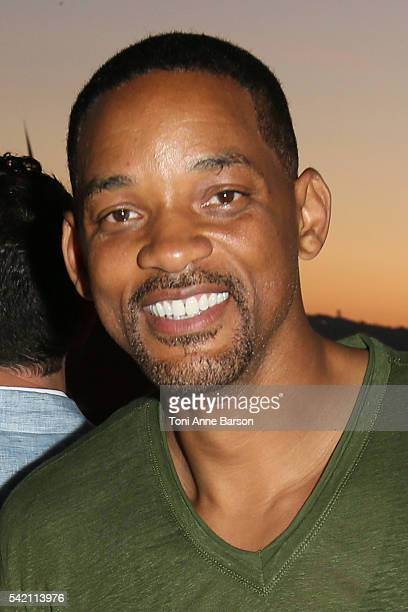 Will Smith attends a dinner party hosted by iHeartmedia and Medialink featuring a special performance by Chris Martin of Coldplay during the Cannes...